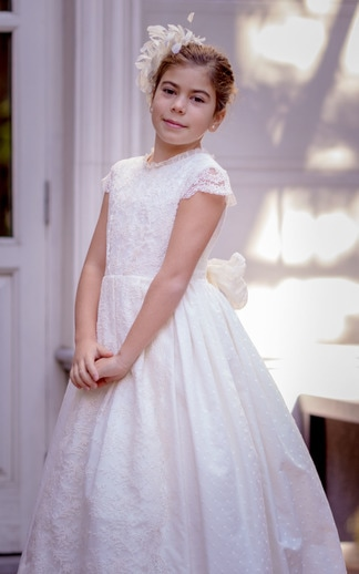 Vestido de comunión de niña