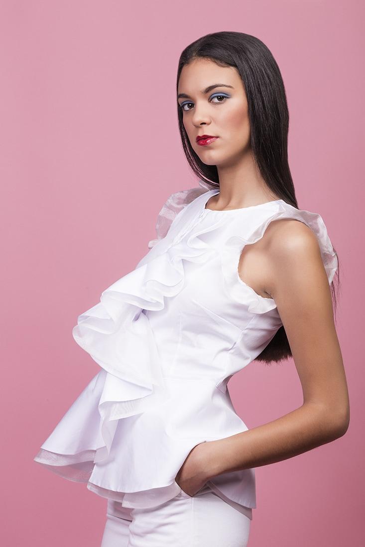 camisas blancas de mujer