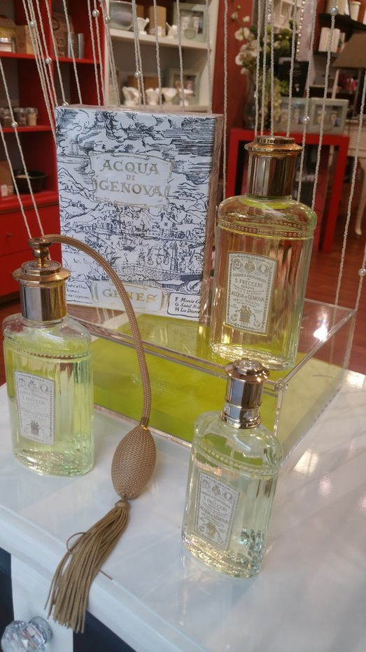 Perfumes frescos con historia