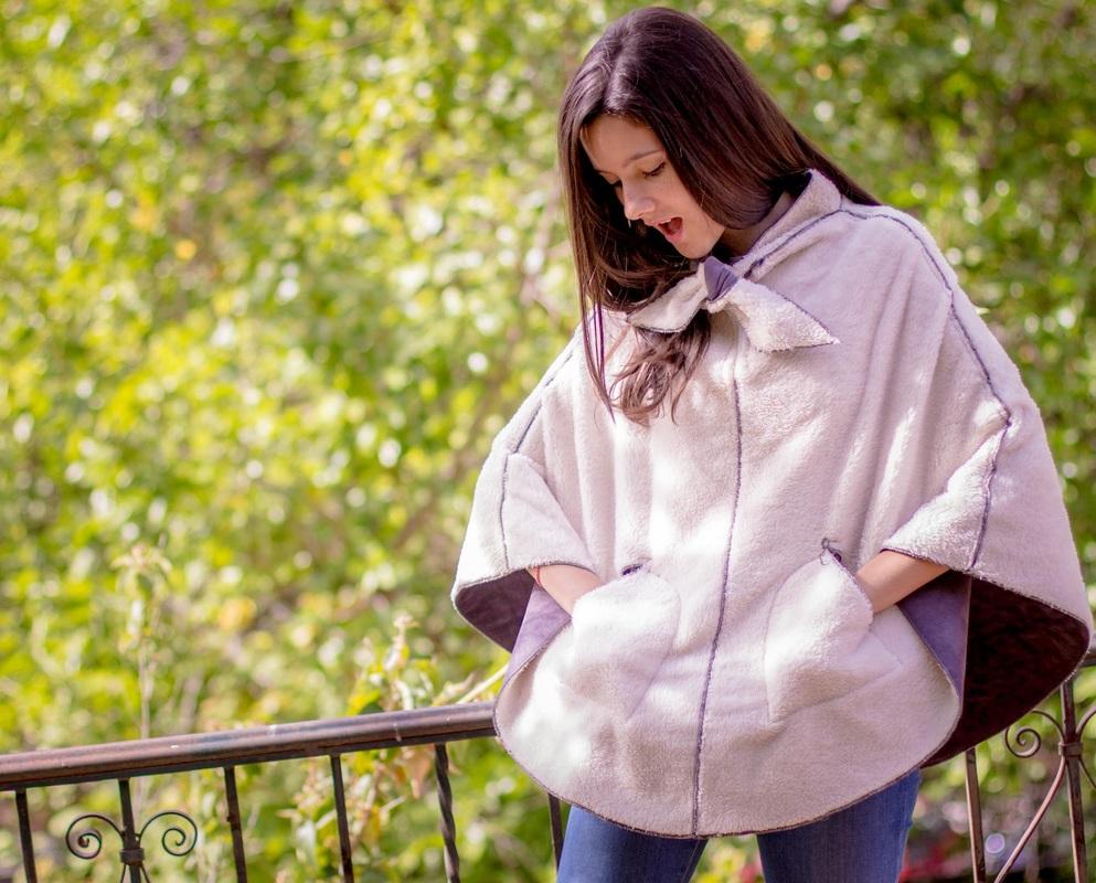La capa o poncho, una prenda de abrigo ideal.