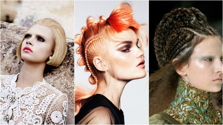 Peinados futuristas o peinados de ahora?