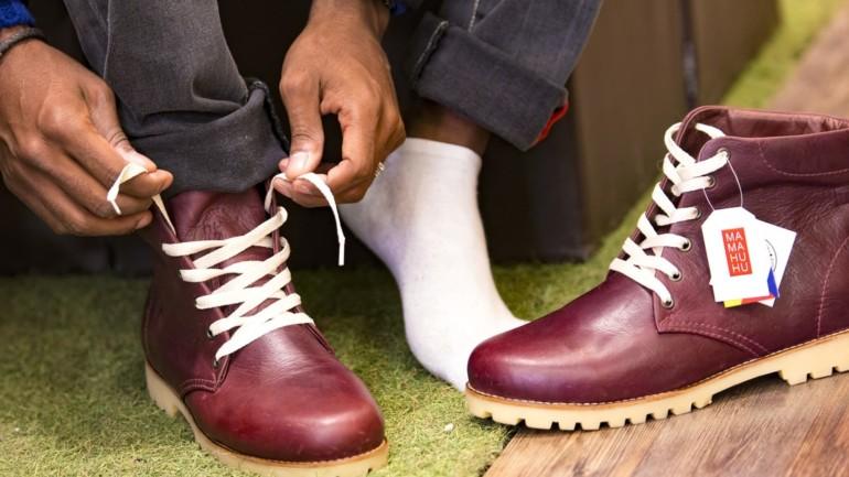 Con las botas para hombre de Mamahuhu, ríete del frío