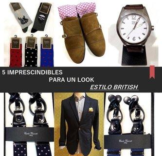 Las 5 claves para conseguir un look masculino estilo british