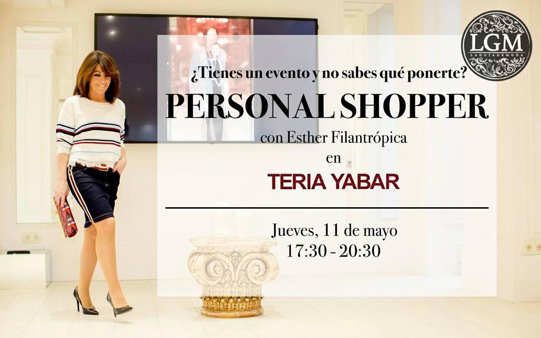 Siente la experiencia de pasar la tarde con una Personal Shopper y descubre lo que te queda bien