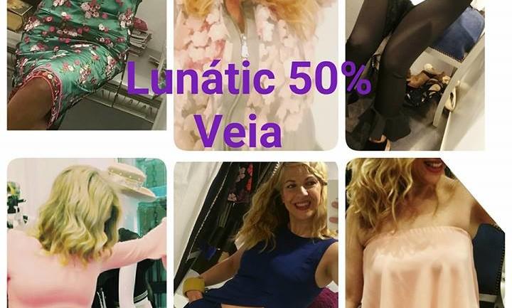La firma LUNATIC de Veia moda estará con un 50%