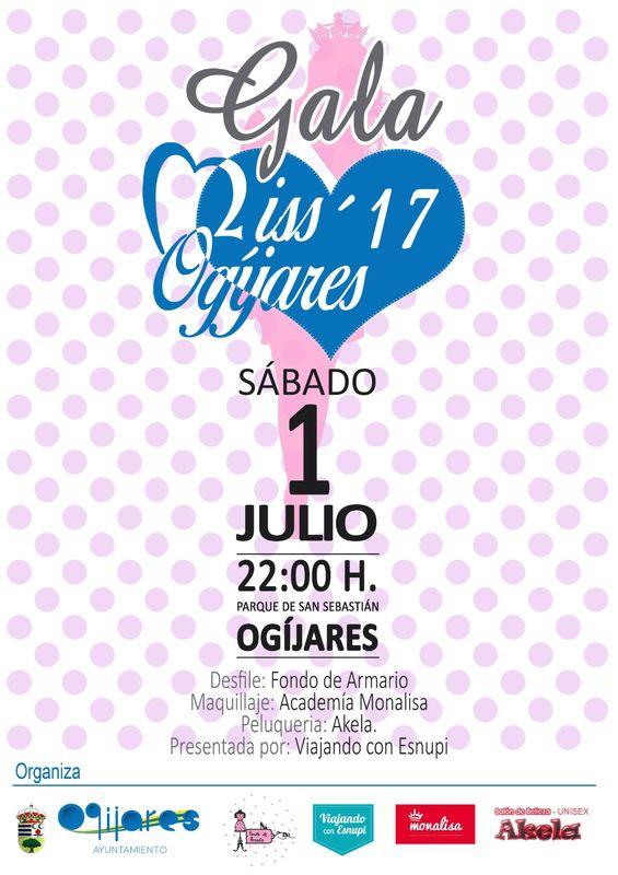 """Desfile de """"Fondo de Armario"""" en la elección de Miss Ogíjares 2017"""