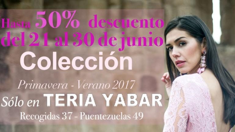 DESCUENTOS de hasta 50% en Teria Yabar Granada