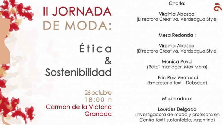 II Jornada de MODA: Ética y Sostenibilidad