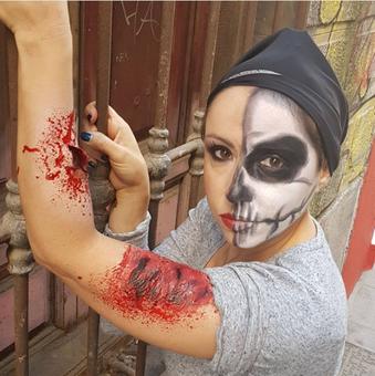 Consejos para maquillarse bien en Halloween