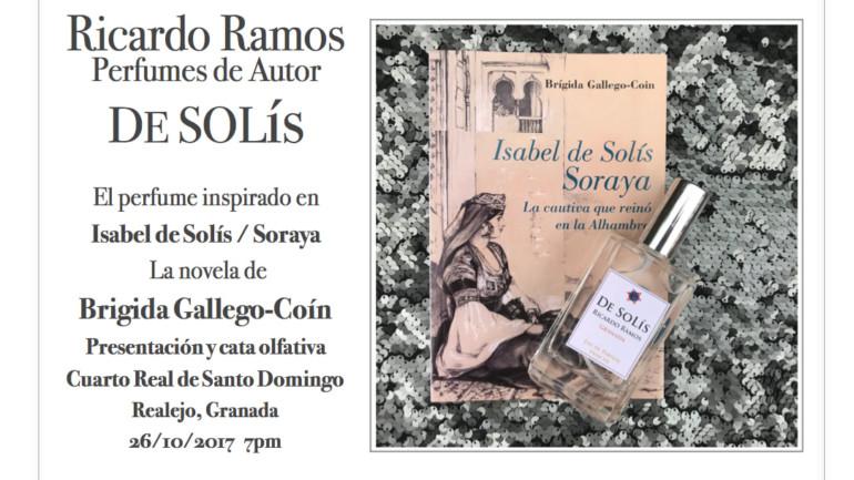 Presentación De Solís el perfume de autor de Ricardo Ramos