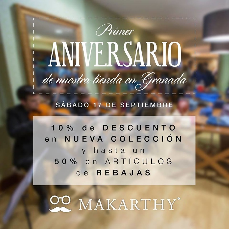 Primer Aniversario Boutique MAKARTHY en Granada