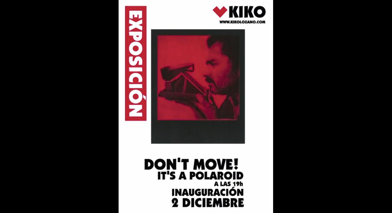 EXPOSICIÓN DE FOTOGRAFÍA DE MODA, DON'T MOVE! IT'S A POLAROID!