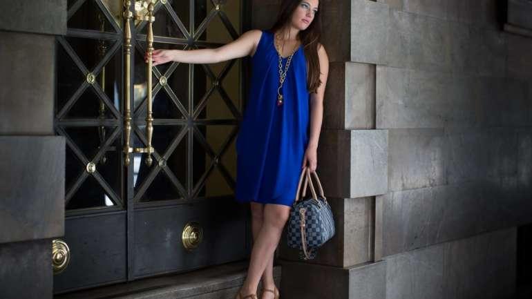 Vestidos azules, los mas deseados