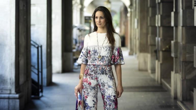 Vestida para impresionar con los diseños de María José Suárez