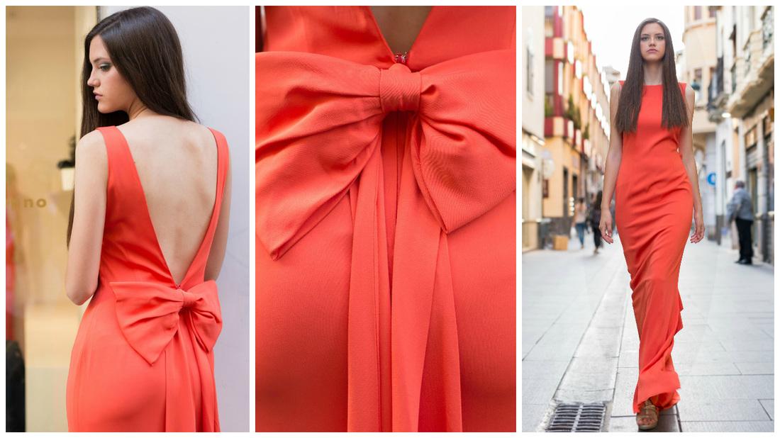 Vestido rojo, negro o azul, una difícil elección.