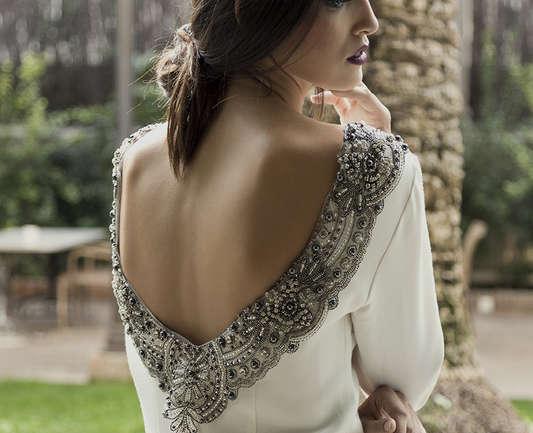 El vestido de novia sencillo y elegante tiene un nombre, Levon Atelier