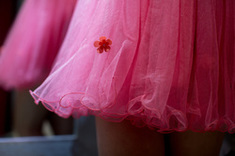 La inocencia del color rosa inspirada en un vestido princess
