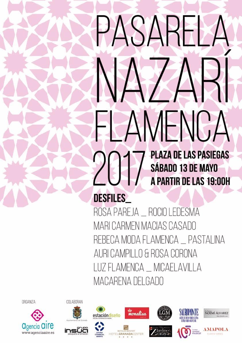 Pasarela de moda flamenca nazarí Granada