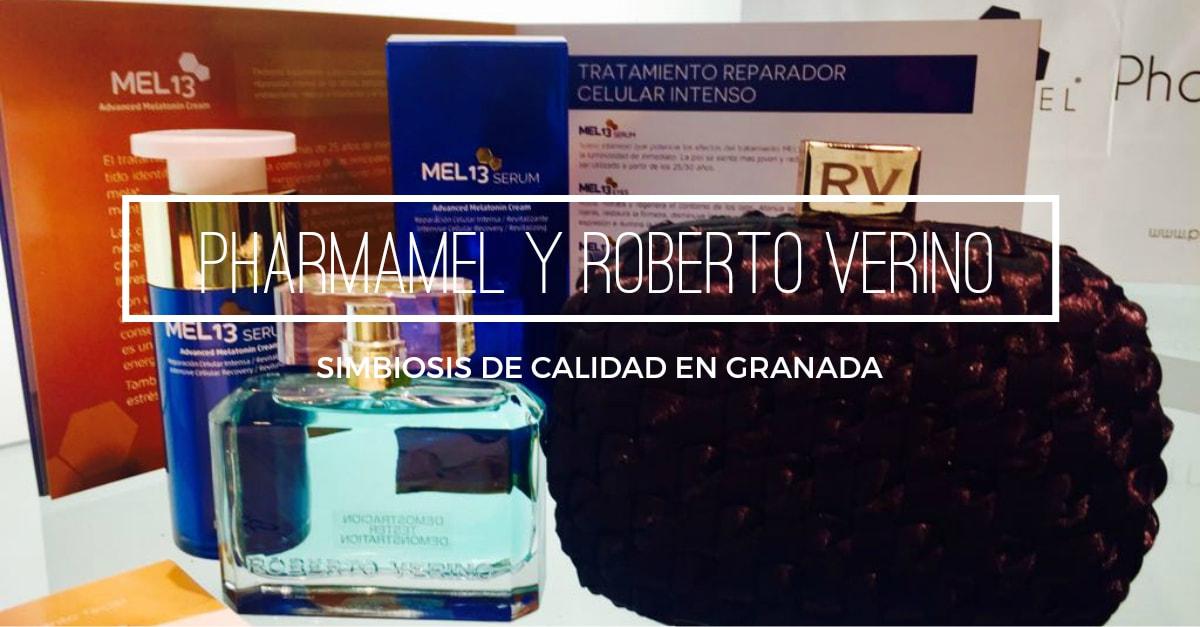Presentacion serum y contorno de ojos de pharmamel y coleccion otoño 2017 roberto verino