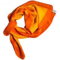 pañuelo naranja